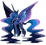 anime classical_unicorn frogbians highres princess_luna