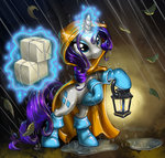 boots harwick highres lantern magic rain rarity