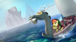 apple_bloom boat discord not_that_kind_of_shipping parody ponyrake the_legend_of_zelda wind_waker