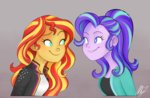 equestria_girls humanized mn27 starlight_glimmer sunset_shimmer