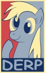 derpy_hooves equestria-election highres parody poster