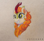 autumn_blaze kirin traditional_art vaser888