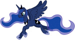 highres princess_luna stabzor svg transparent vector