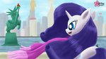 clouddg highres manehattan rarity scarf statue