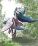 forest princess_celestia xxkrutoy