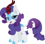 cloudyglow highres kirin rarity species_swap vector