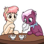 background_ponies highres mkogwheel table tea teacup teapot