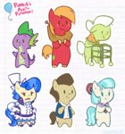 big_macintosh coco_pommel egophiliac granny_smith sapphire_shores spike
