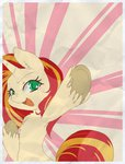 border sunset_shimmer xazteiin