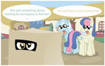 cardboard_box derpy_hooves gameloft lyra_heartstrings sweetie_drops t-3000