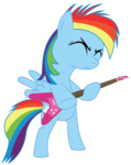 bipedal fethur filly guitar highres i_shall_not_use_my_hooves_as_hands rainbow_dash transparent vector