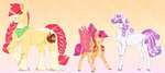 apple_bloom cutie_mark_crusaders sadelinav scootaloo sweetie_belle