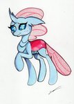 absurdres highres luxiwind ocellus traditional_art