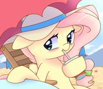 beach fluttershy hat joyfulinsanity soda umbrella