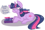 book theknysh twilight_sparkle