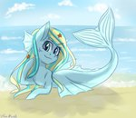 beach mermaid original_character seaponies silbersternenlicht