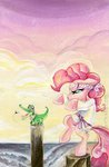 fly gi gummy headband highres karate karate_kid parody pinkie_pie sararichard