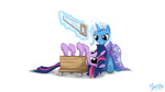 magic mysticalpha saw the_great_and_powerful_trixie this_will_end_well twilight_sparkle wallpaper