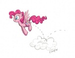 fim_crew lauren_faust pinkie_pie production_art