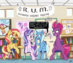 absurdres big_macintosh docwario highres moondancer princess_cadance princess_celestia princess_luna princess_twilight scootaloo starlight_glimmer sunset_shimmer tempest_shadow the_great_and_powerful_trixie twilight_sparkle