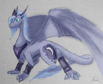 dragon princess_luna ryuukiba species_swap