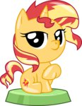 absurdres highres phucknuckl sunset_shimmer vector