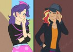 equestria_girls feellikeaplat humanized rarity shipping sunset_shimmer