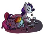 rainbow_dash raridash rarity shipping spectralunicorn