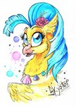 donika-schovina highres princess_skystar traditional_art