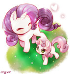 born_to_die butterfly heart highres japanese rarity sweetie_belle