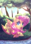 fluttershy forest highres left2fail stream
