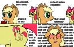 apple_bloom applejack artist_unknown comic insanity mspaint recursion