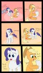 Post 65799, tags: another_scorcher, applejack, comic, newspaper, parody, pitcher, rapidstrike, rarity, sears_commercial, why, rating:Questionable, score:20, user:haywire