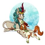 autumn_blaze highres inuhoshi-to-darkpen kirin rain_shine