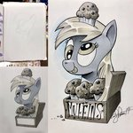 andy_price derpy_hooves highres muffin traditional_art