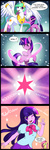 anime comic equestria_girls fluttershy humanized japanese jiayi magic princess_celestia sparkles species_confusion twilight_sparkle variety_is_the_why