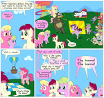 background_ponies balloon basket bear big_macintosh comic daisy derpy_hooves explosion fadri fainting_couch fluttershy insanity lily_valley mayor_mare pinkie_pie plushie rarity rose smarty_pants spike toy twilight_sparkle violence