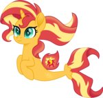cloudyglow highres merponies sunset_shimmer vector