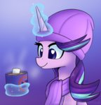 hat magic mug puetsua scarf starlight_glimmer