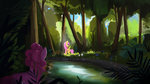 fluttershy forest hierozaki highres pinkie_pie trees water