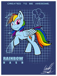 Post 66326, tags: fuzon-s, rainbow_dash, rating:Safe, score:5, user:Geomancing