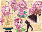 anime anime_as_fuck fluttershy highres humanized zorbitas