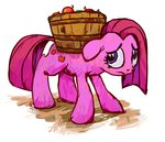 apples cutie_mark_swap livestream pinkamena_diane_pie pinkie_pie weedgoku