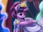 dress evedizzy26 highres princess_twilight twilight_sparkle