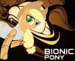 applejack bionic_woman parody rhanite robot