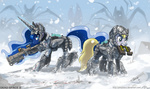 armor dead_space derpy_hooves gun johnjoseco princess_luna snow weapon