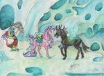 discord sagastuff94 starlight_glimmer the_great_and_powerful_trixie thorax traditional_art
