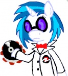 crossover dave_strider homestuck vinyl_scratch