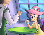 coffee hat humanized rarity ric-m tagme