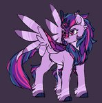 cloud-drawings highres kirin princess_twilight species_swap twilight_sparkle
